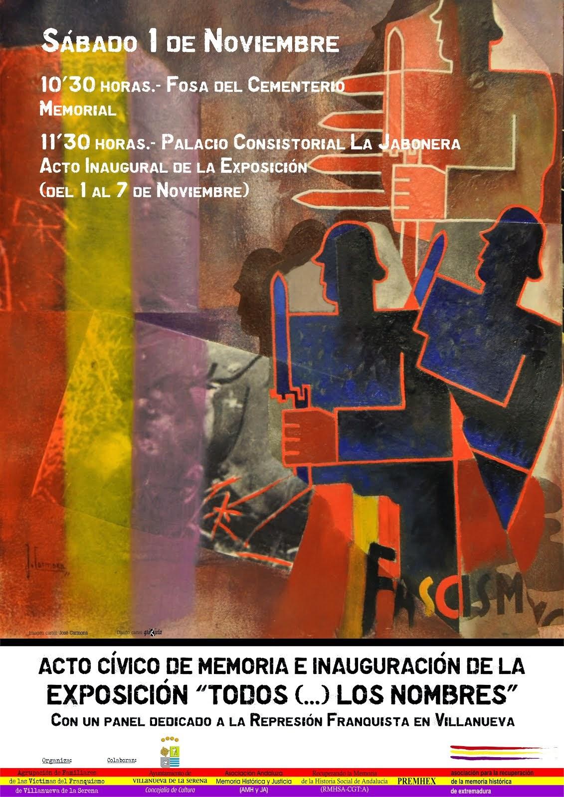 """Exposición """"Todos ...los nombres"""""""