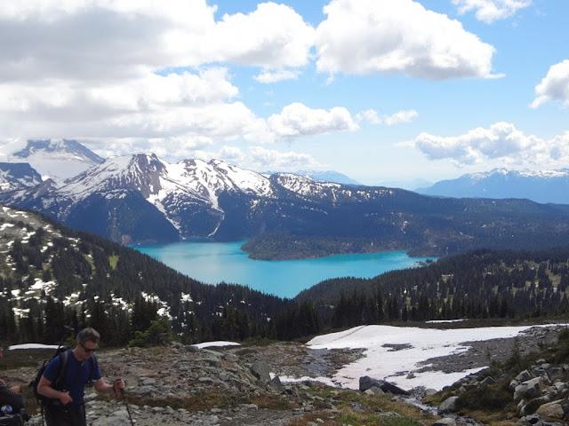 View of Garibaldi Lake from base of Black Tusk