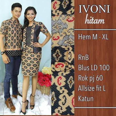Baju-Batik-Pasangan-Ivoni-Hitam-SP8090