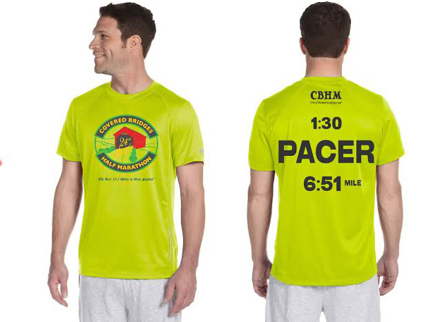 Look for This Pacer Tee at the Start!