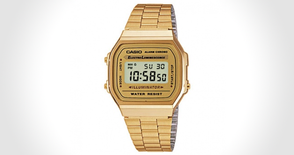 Gold Casio Watch