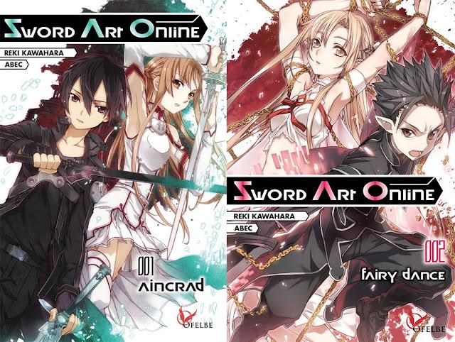Abec, Actu Light Novel, Actu Manga, Light Novel, Manga, Ofelbe, Reki Kawahara, Sword Art Online, Sword Art Online Aincrad, Sword Art Online Fairy Dance,