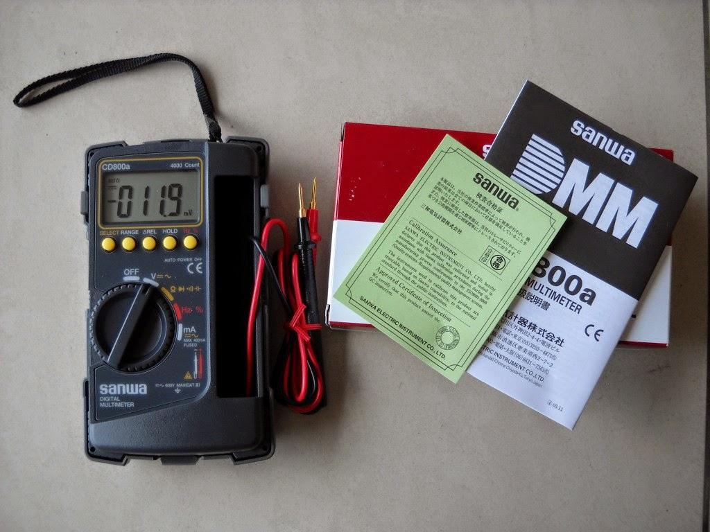 Harga Multimeter Digital Sanwa cd800a Terbaru