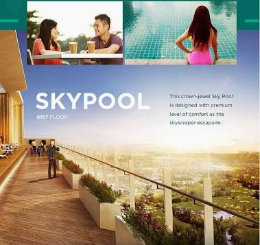 Sky Pool Golf View