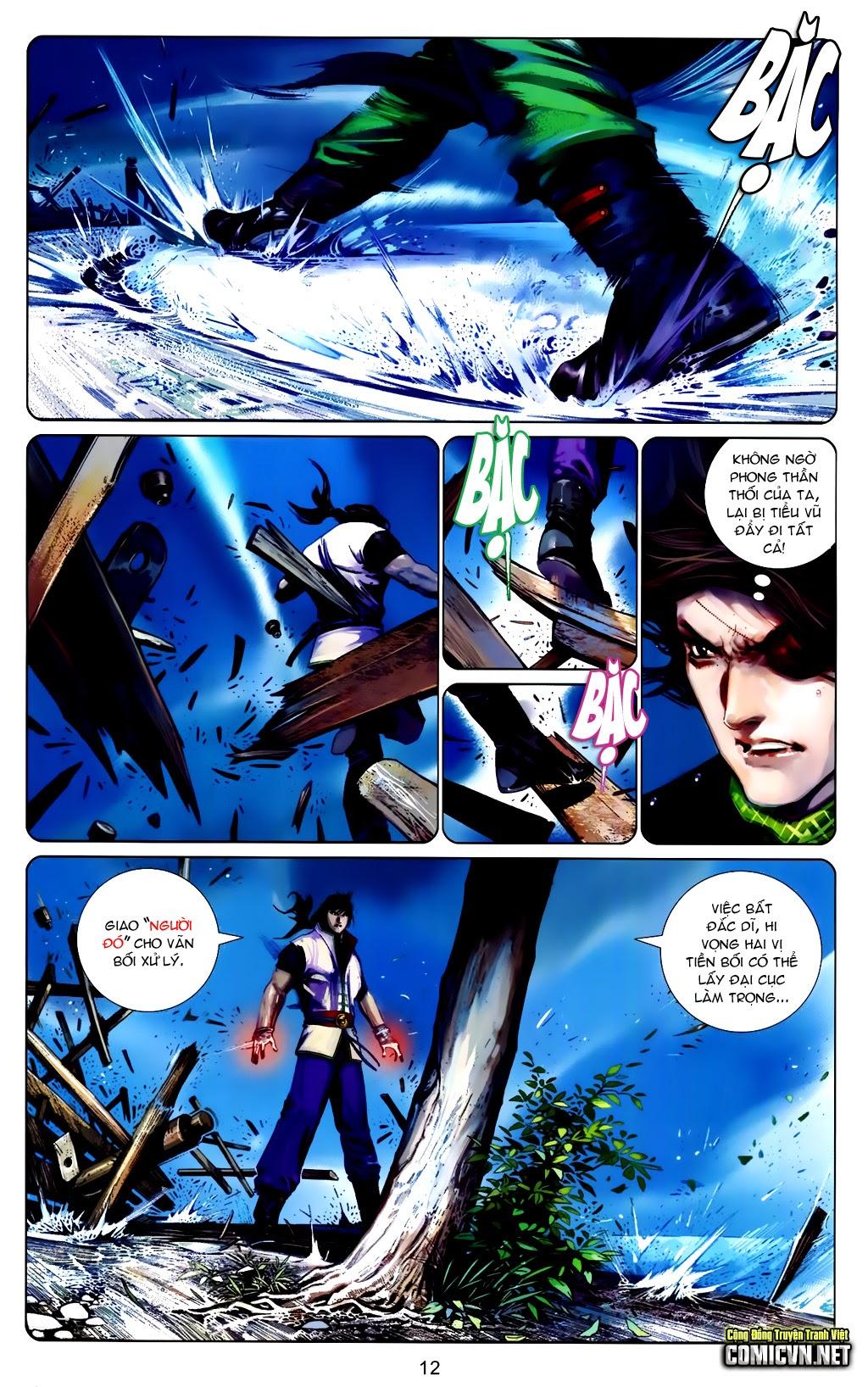 Phong Vân Chap 663 - Trang 12