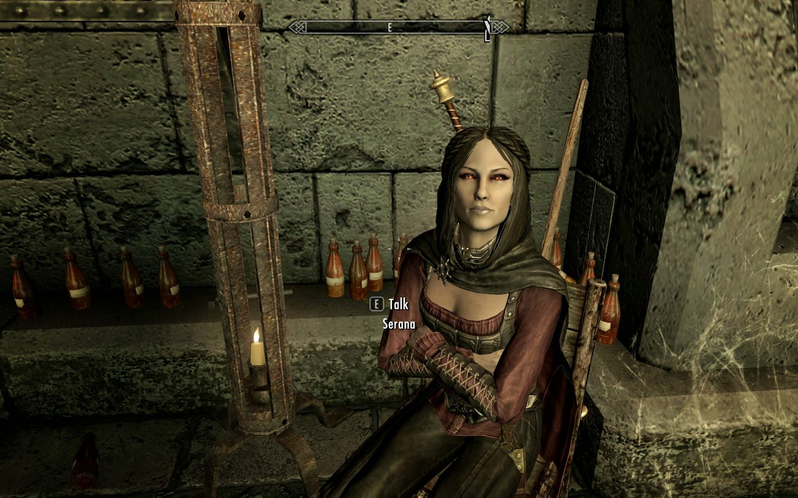 skyrim how to become a vampire early