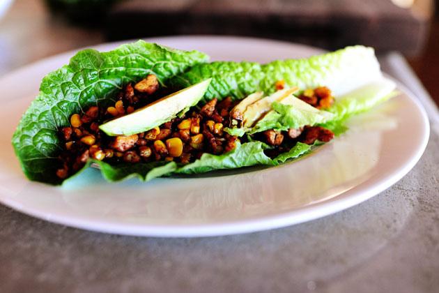 Вегетарианские салаты с кукурузой фото