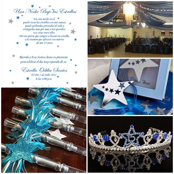 Dancing Under The Stars Sweet Fifteen Theme Quince Candles