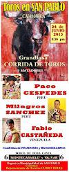 Fabio Castañeda, anunciado en San Pablo, Cajamarca el 24/06.