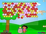 Game Dora bắn bóng, chơi game ban bong online
