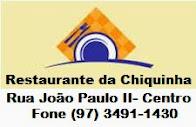RESTAURANTE DA CHIQUINHA