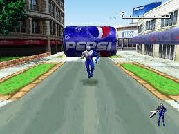 Download Game Pepsiman For PC Terbaru
