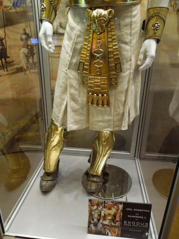 Exodus Gods and Kings Ramesses II costume detail