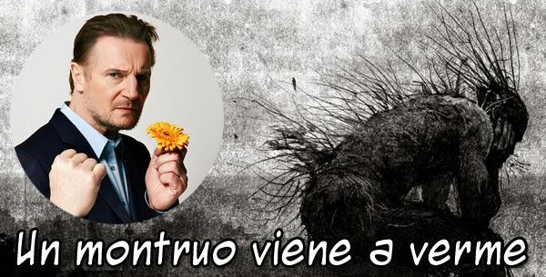 """Liam Neeson será el monstruo protagonista del nuevo film de J.A. Bayona: """"Un Monstruo viene a Verme"""""""