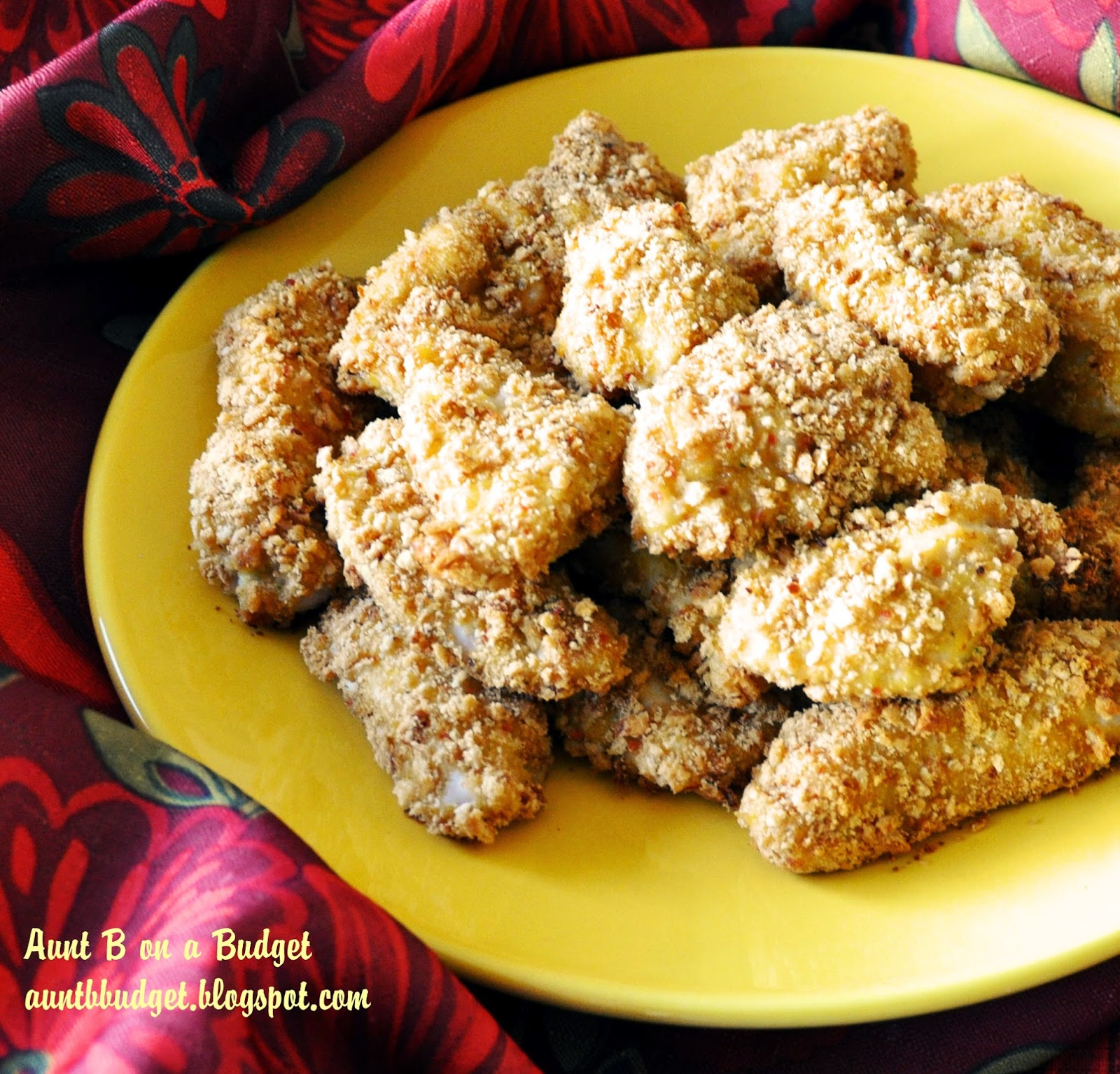 Aunt B on a Budget: Crispy Homemade Chicken Strips