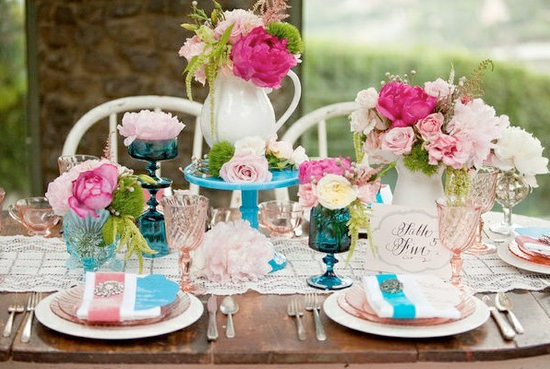 Shabby Chic Wedding Theme