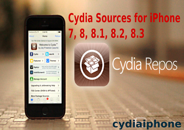 Cracked Cydia Sources: Best Cydia Repository, Cydia Sources for iPhone 7, 8, 8.1, 8.2, 8.3