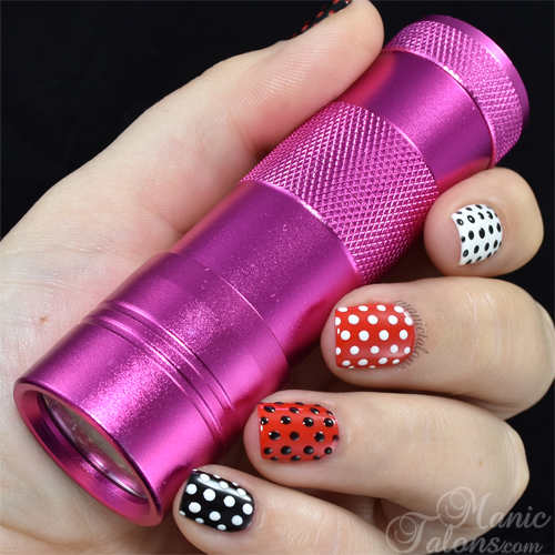 BMC LED Travel Flashlight for curing gel polish