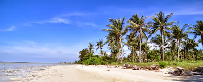 Pasir Pantai Pulau Tidung