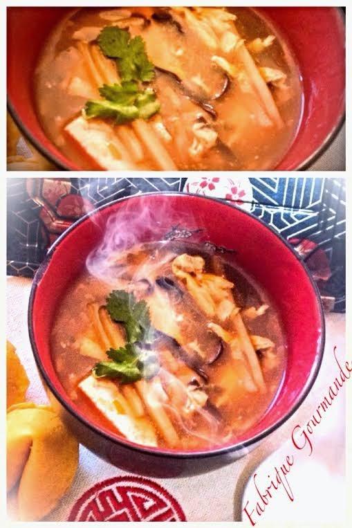 potage pekinois ou hot and sour soup blogs de cuisine. Black Bedroom Furniture Sets. Home Design Ideas
