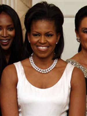 Michelle Obama Cultured Pearls