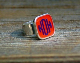 http://honeybeelanedesigns.com/item_209/Orange-Monogrammed-Ring.htm