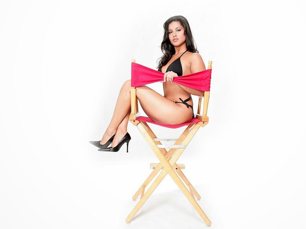 Sunny Leone Censored unseen banned black bikini semi nude not nude clean hd pics