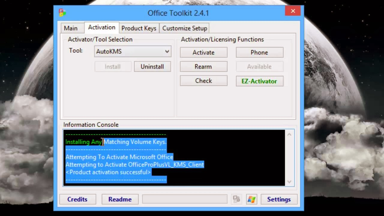 microsoft office toolkit incapable of kms activation