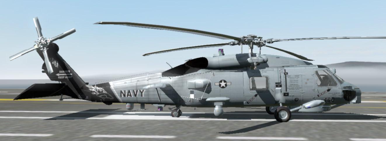 弱者の日記^^ArmA2 SH-60B シーホークアドオン