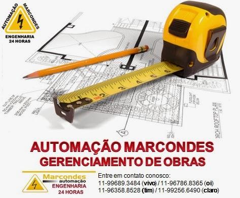 Automação Marcondes - gerenciamento de obras