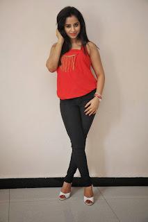 Actress Swathi Deekshith  Pictures in Jeans at Ladies and Gentlemen Movie Success Meet  34.JPG