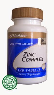 zink complex meningkatkan kesuburan lelaki