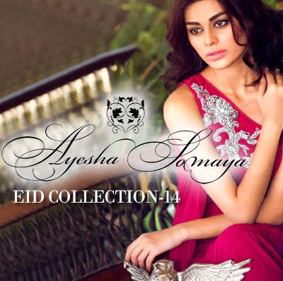 Ayesha Somaya Eid Dress Collection 2014 | Eid Party Wear Dresses