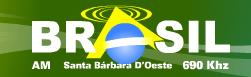 Rádio Brasil AM da Cidade de Santa Bárbara do Oeste ao vivo