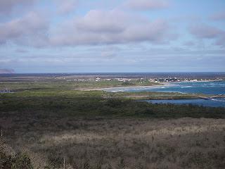 Puerto Villamil Panorama, Isabela Island, Galapagos