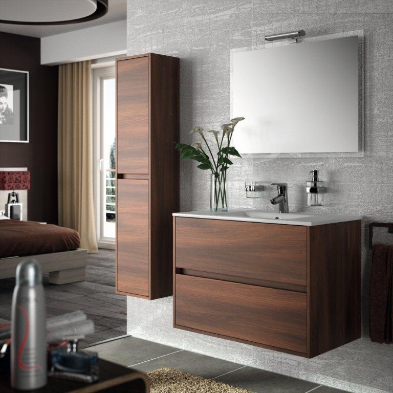 Muebles Baño Color Wengue:Noja, mueble de baño suspendido con precios de hoy ~ Reformas Guaita