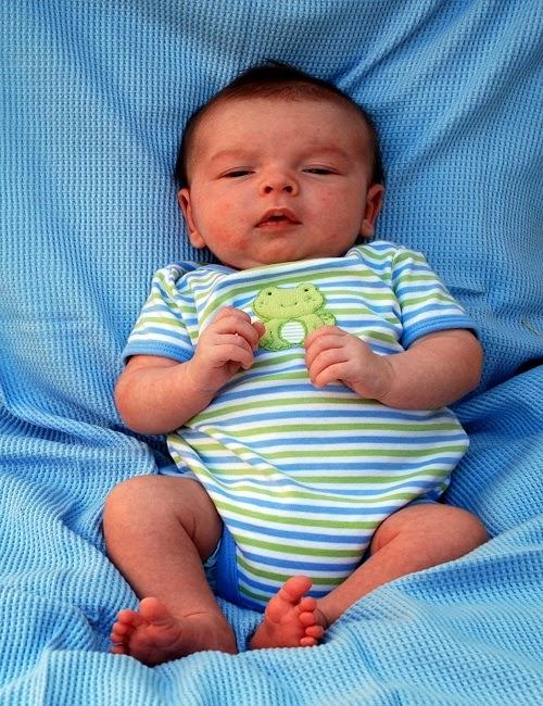 Photo bébé de 3 mois