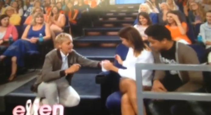 KathNiel Love Team Spotted on Ellen Show