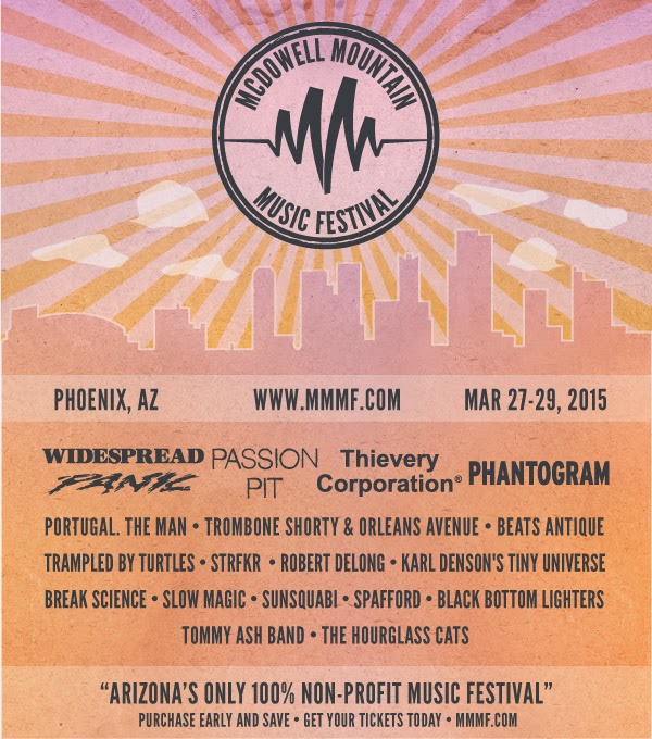 2015 McDowell Mountain Music Festival | Phoenix, AZ
