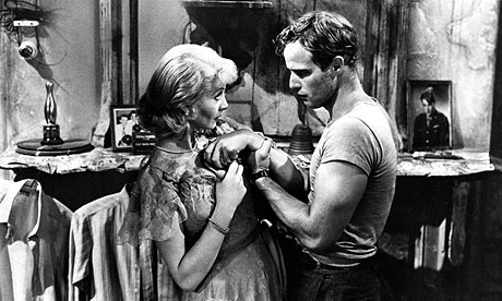 streetcar named desire scene two On broadway and two years later a streetcar named desire earned williams  his first pulitzer prize  blue, almost a turquoise, which invests the scene with a.