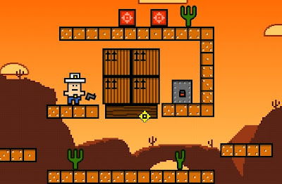 Cuboy Quest 2 walkthrough.