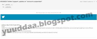 akun twitter ditangguhkan suspended