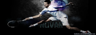 Couverture Facebook de Novak Djokovic