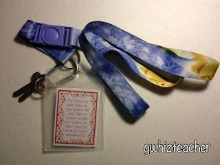 ID badge verses, gwhizteacher, weekly ID verses