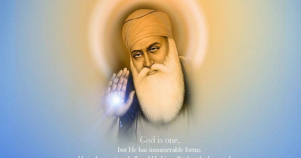 Sikhism guru nanak dev ji hd wallpapers free download wish message quotes - Guru nanak dev ji pics hd ...