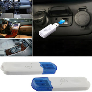 Mini Car USB Bluetooth V2.1 Stereo Audio Music Wireless Speaker Receiver Adapter