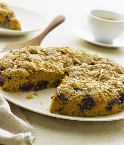 Blueberry Coffee Cake - Super Seeds