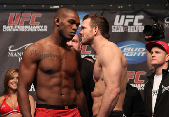 ufc mma jon jones vs ryan bader picture image