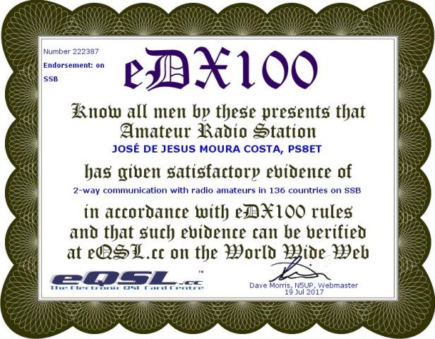 eDX 100 SSB