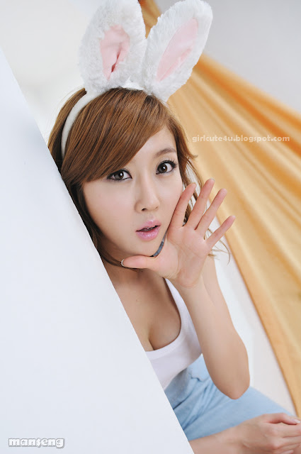 Choi-Byul-I-Denim-Overall-Skirt-06-very cute asian girl-girlcute4u.blogspot.com